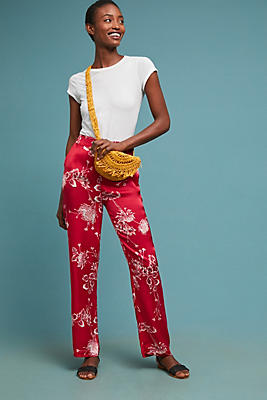 Slide View: 1: Wyndmere Floral Trousers
