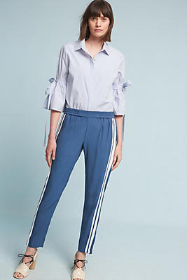 Slide View: 2: Petra Striped Track Pants