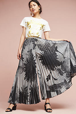 Slide View: 1: Cosimia Pleated Trousers