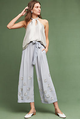Slide View: 1: Reonata Embellished Pants