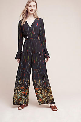 Slide View: 1: Kaelah Floral Jumpsuit