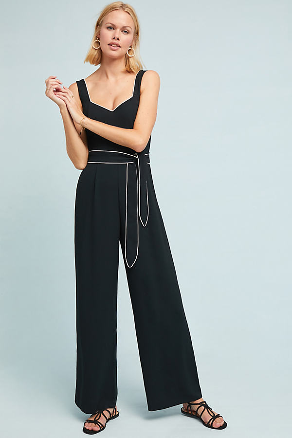 Rachael Jumpsuit - Black, Size Uk 6