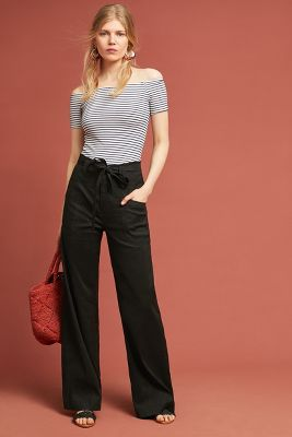 Melody Wide Leg Pants by Anthropologie