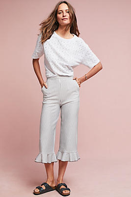 Slide View: 1: Beaumont Ruffled Trousers