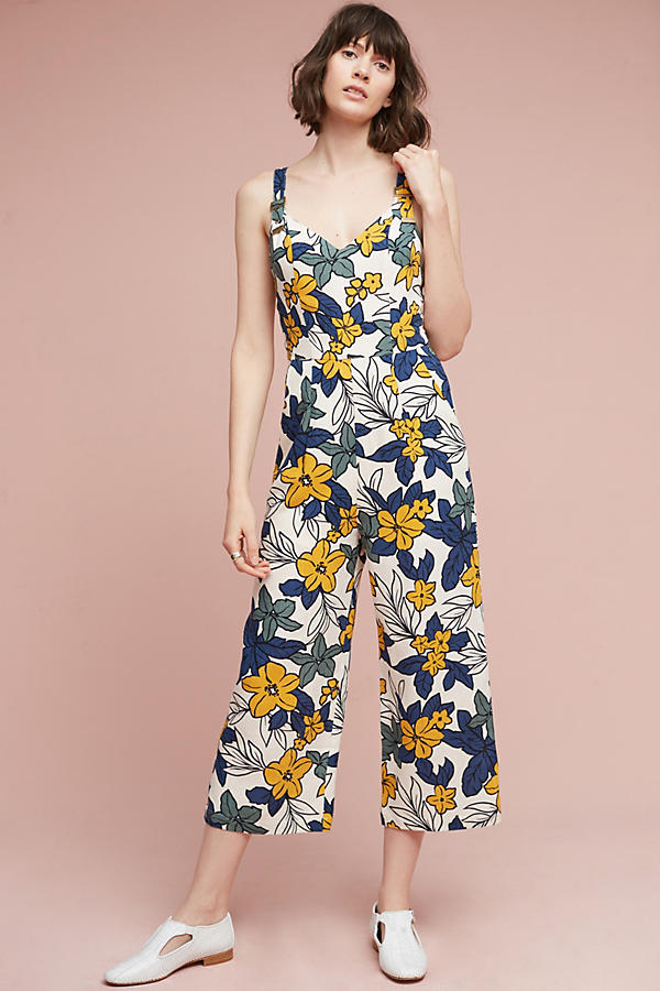 Slide View: 3: Amazon Floral Jumpsuit