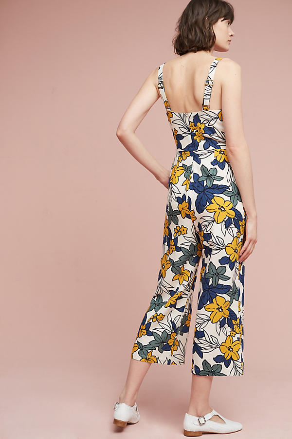 Slide View: 4: Amazon Floral Jumpsuit
