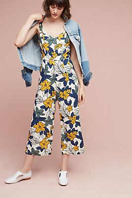 Slide View: 1: Amazon Floral Jumpsuit