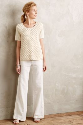 Pilcro Linen Trousers | Anthropologie