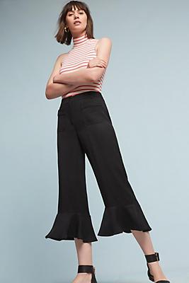 Slide View: 1: Morena Ruffled Trousers