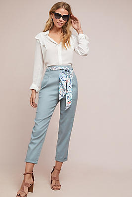 Slide View: 1: Nias Belted Pants