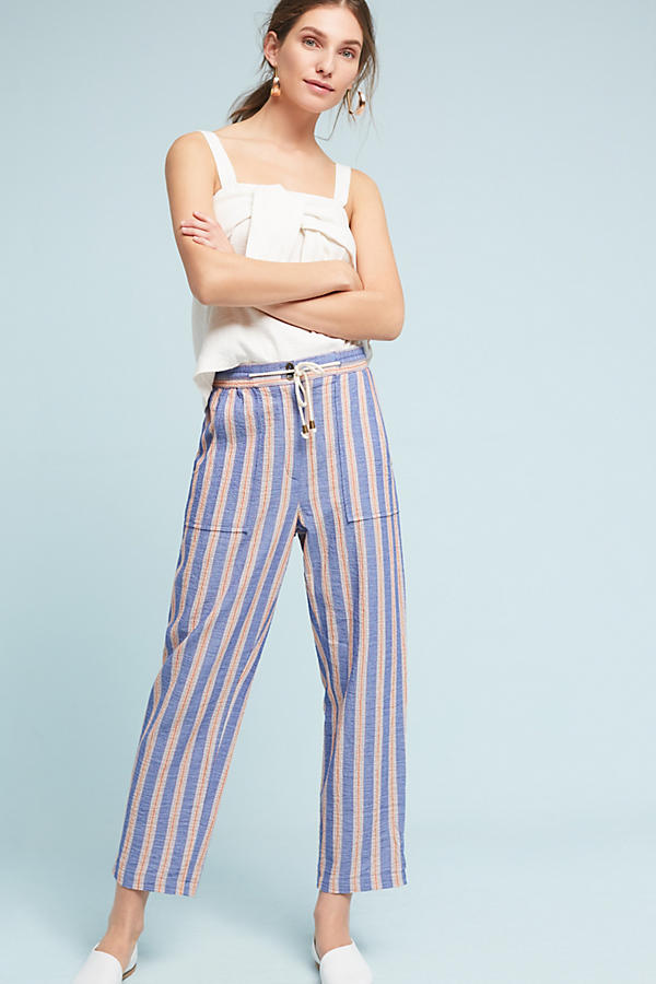 Slide View: 2: Beachside Striped Pants