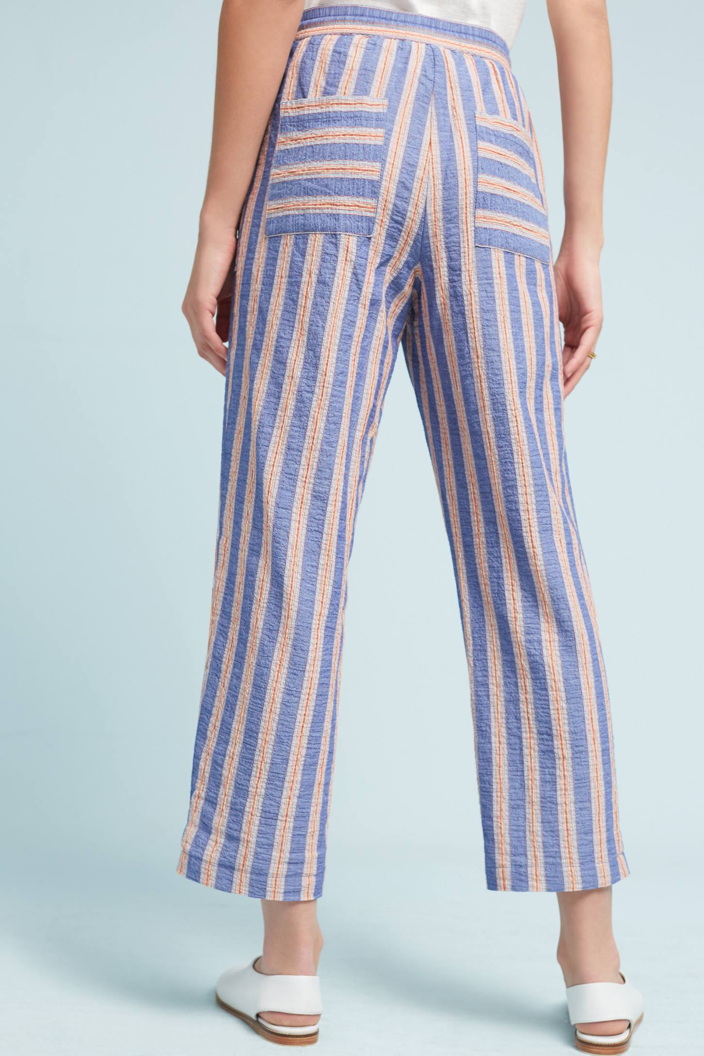 Slide View: 4: Beachside Striped Pants