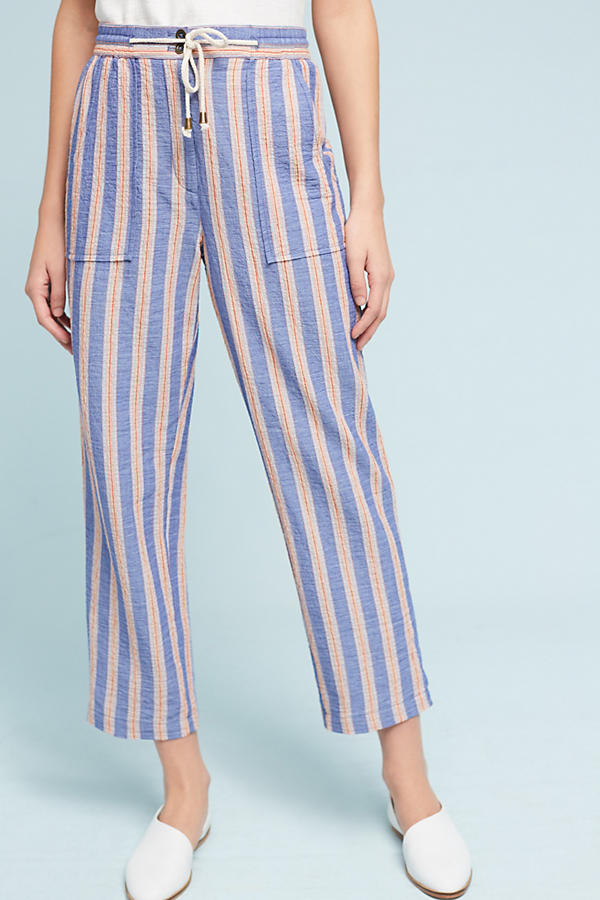 Slide View: 1: Beachside Striped Pants