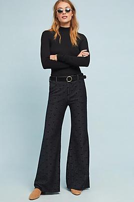 Slide View: 1: Jacquard Dot Trousers