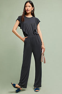 Slide View: 1: Josey Ruffled Jumpsuit