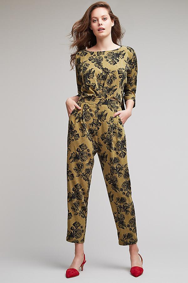 Fran Floral Jumpsuit - A/s, Size Uk 6