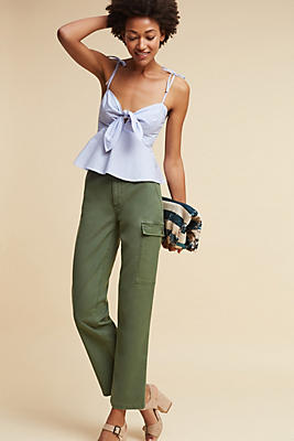 Slide View: 2: Relaxed Cargo Pants
