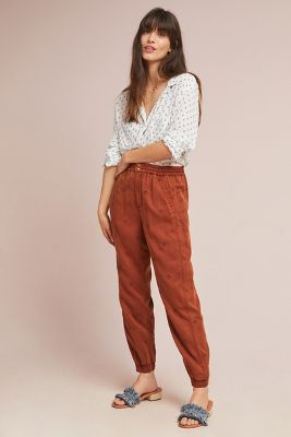 for sale latest trends classcic Shoptagr | Rowan Embroidered Joggers by Anthropologie