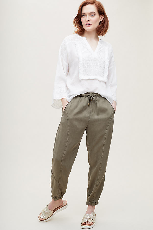 Livia Jogging Trousers - Green, Size Xs