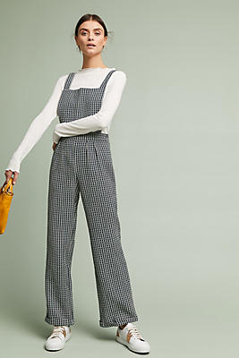 Slide View: 1: Spotted Jumpsuit