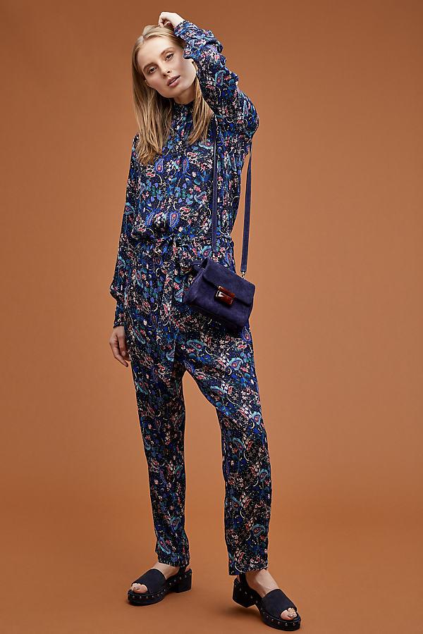 Georgia Floral-Print Jumpsuit - Assorted, Size L