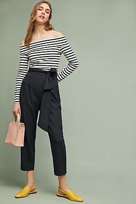 Slide View: 1: Landen Pinstriped Pants