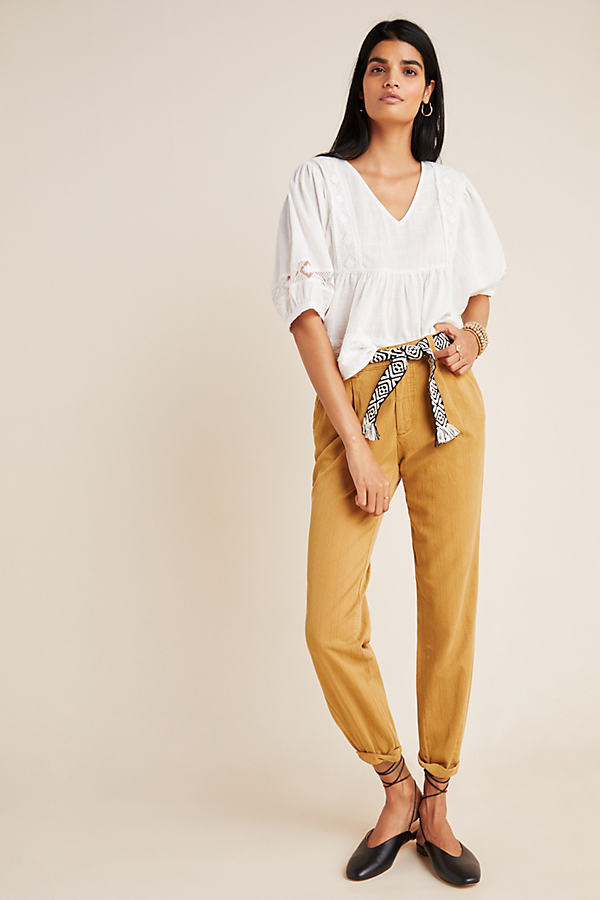 Scout Slim Pleated Trousers