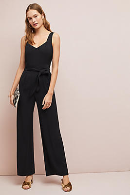 Slide View: 1: The Essential Belted Jumpsuit