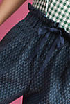 Thumbnail View 3: Triangle Tapered Pants, Navy
