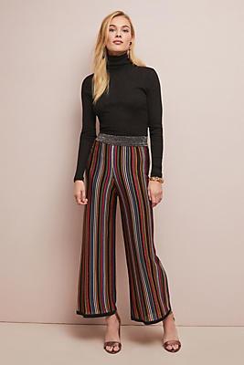 Slide View: 1: Retro Striped Pants