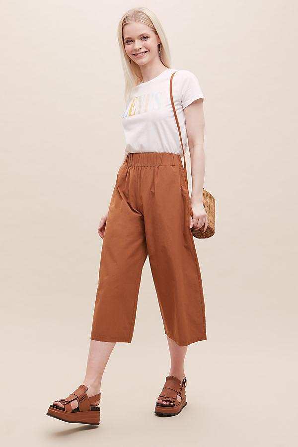 Beaumont Organic Adrienne Organic-Cotton Trousers