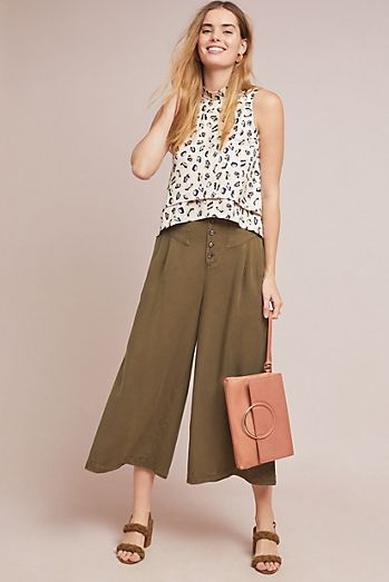 Culottes Pants Wide Leg Palazzo Pants Anthropologie