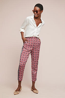 Slide View: 1: Cardiff Printed Pants