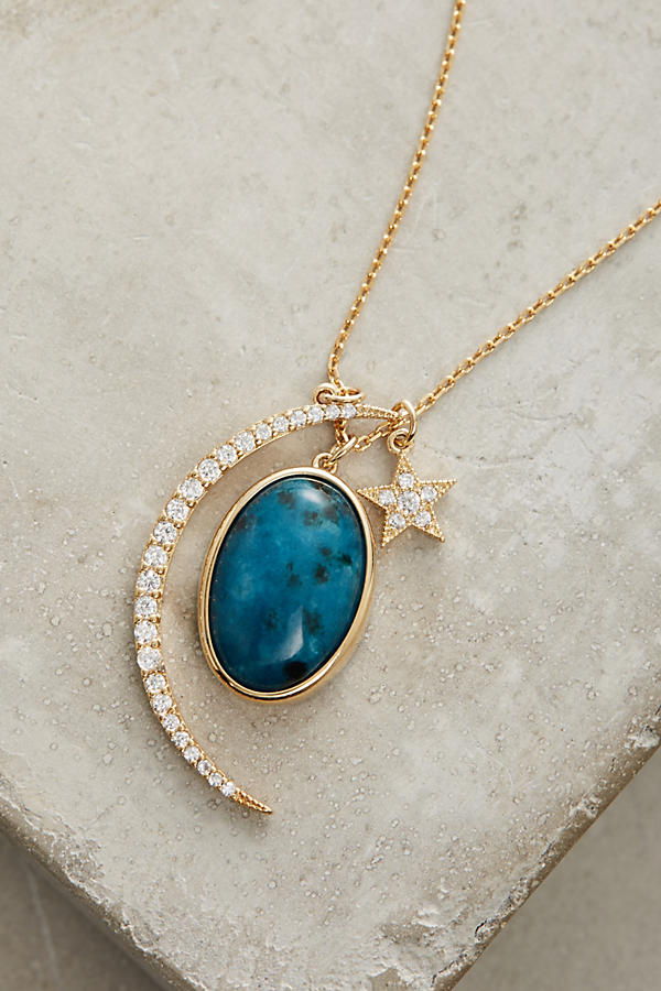 Slide View: 2: Night Sky Pendant Necklace