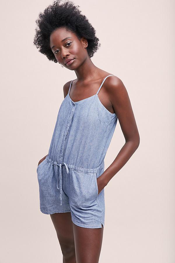 Levi's Amber Playsuit - Blue, Size Xs