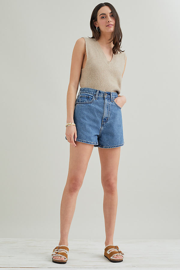 Levi's High Loose Denim Shorts