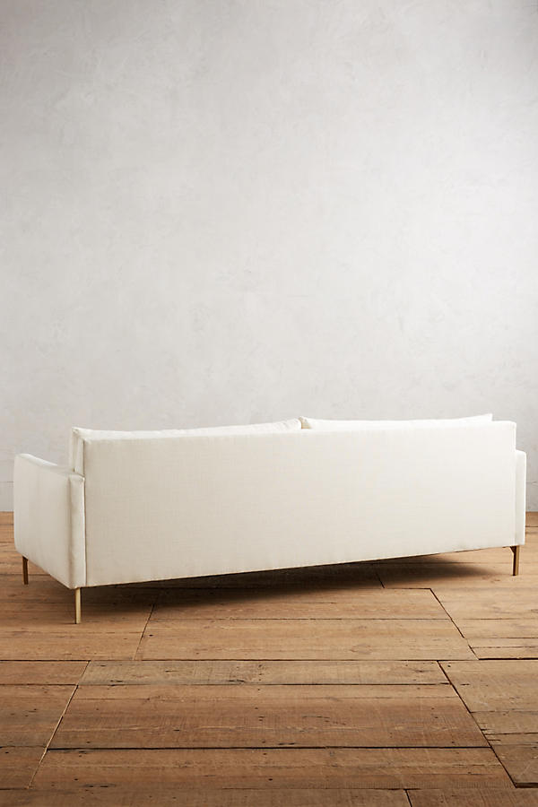 Slide View: 2: Belgian Linen Angelina Sofa
