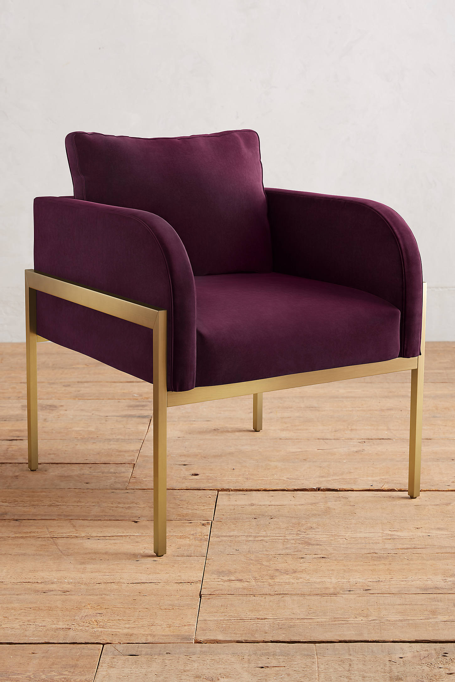 Velvet Ardmore Chair