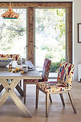 Slide View: 4: Medina Diamond-Printed Emrys Chair