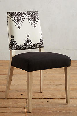 Slide View: 1: Adalet-Printed Farwood Chair