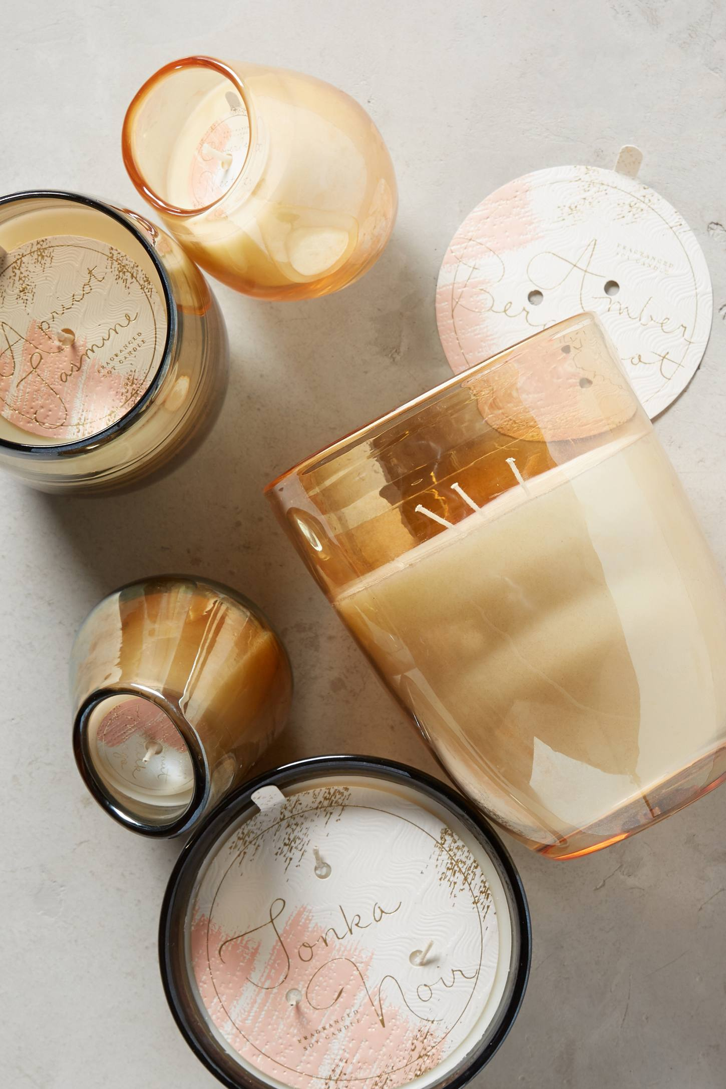Slide View: 3: Opaline Candle