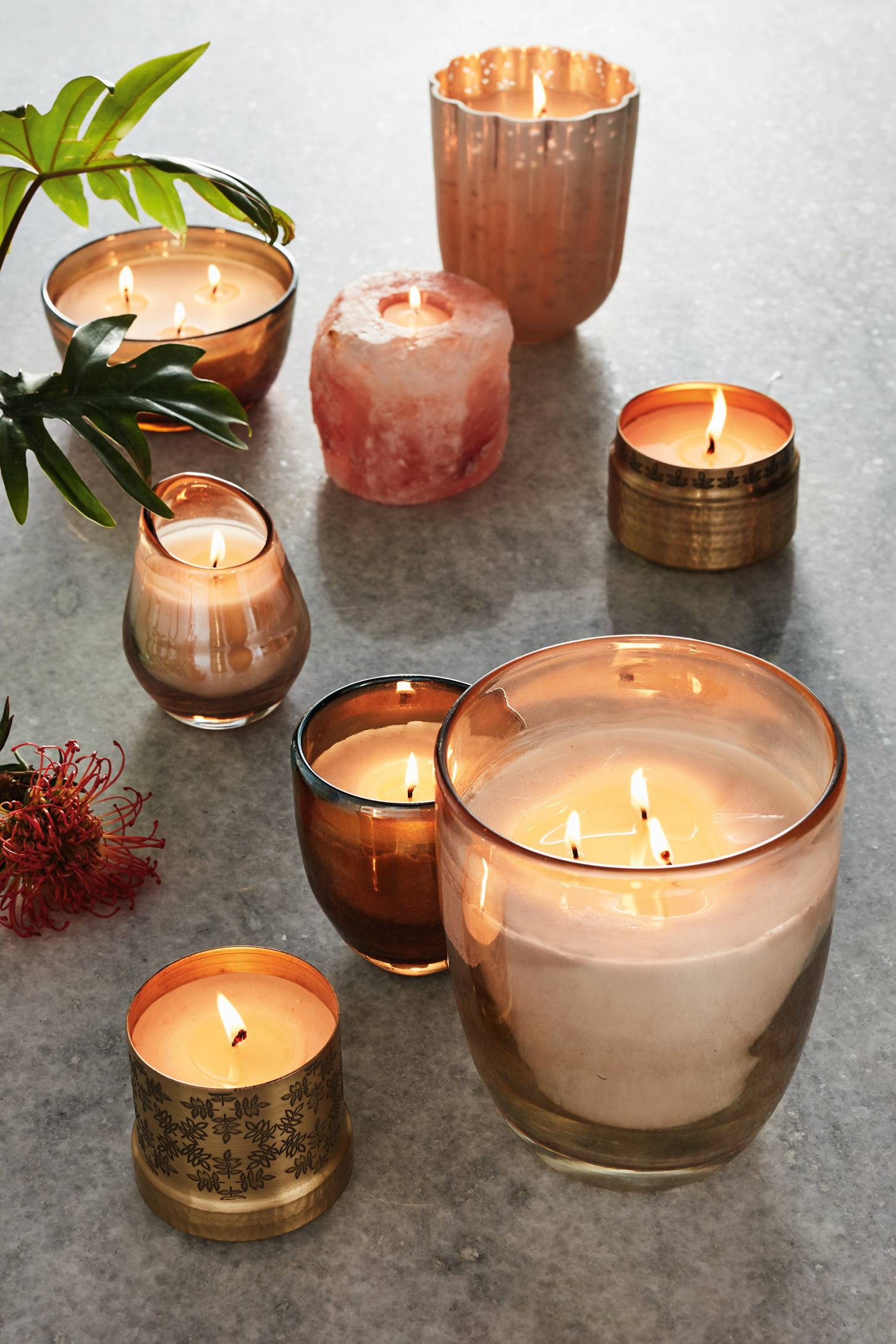 Slide View: 4: Opaline Candle