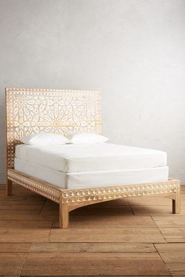 Handcarved Albaron Bed Anthropologie
