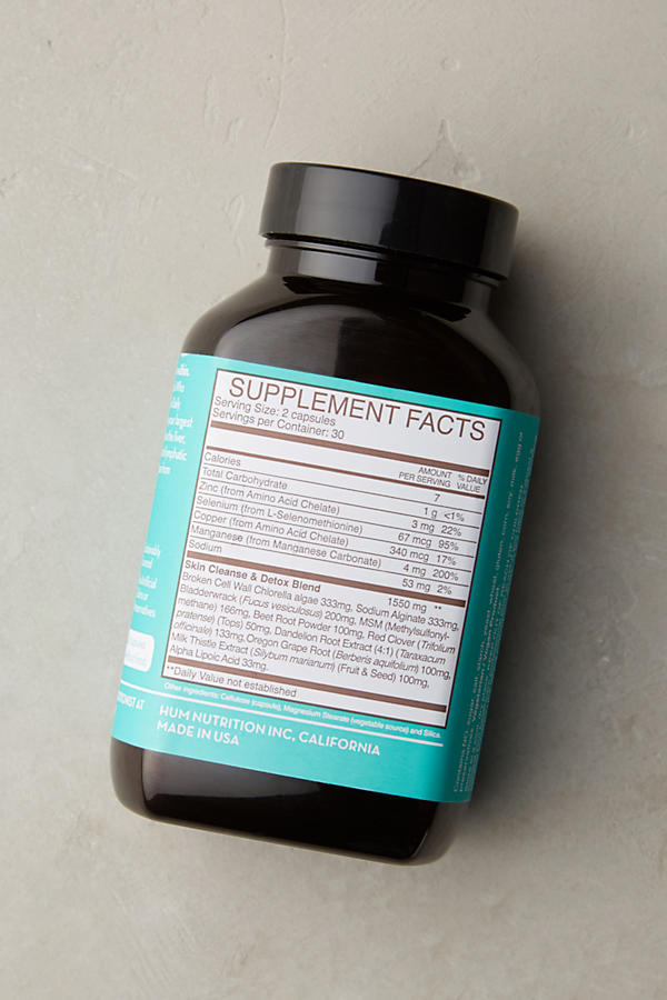 Slide View: 2: Suppléments Daily Cleanse Hum Nutrition
