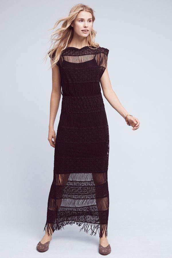 Callahan Nightward Crocheted Maxi Dress