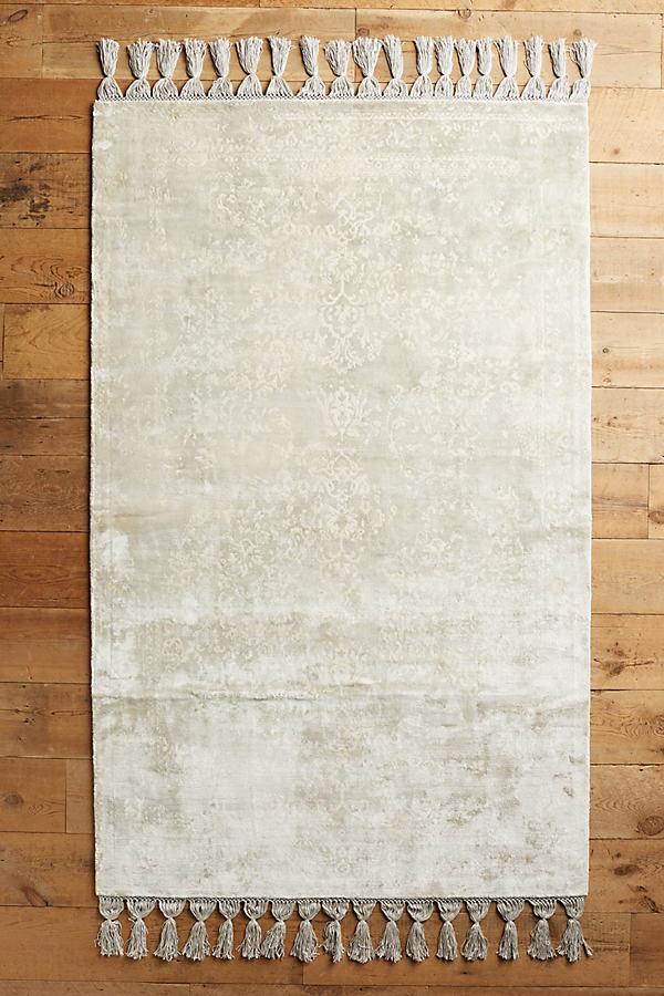 Overdyed Tilda Rug - Grey, Size 4 X 6