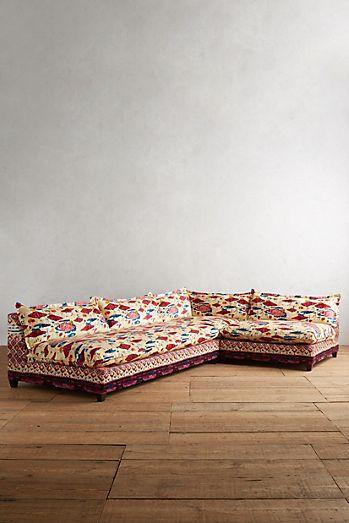 Red - Unique Living Room Furniture | Anthropologie