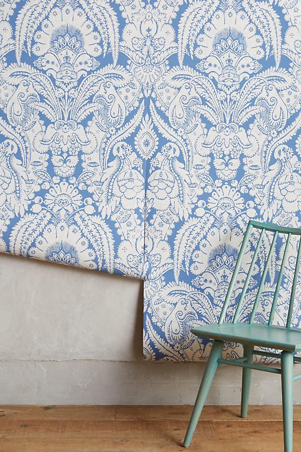 Chatterton Wallpaper - Blue
