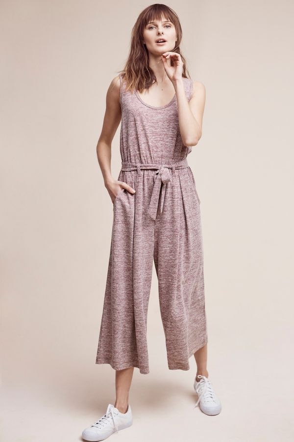 Saturday/Sunday Saunter Tie-Waist Jumpsuit