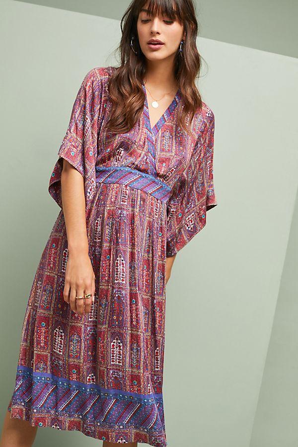 omina kimono dress anthropologie